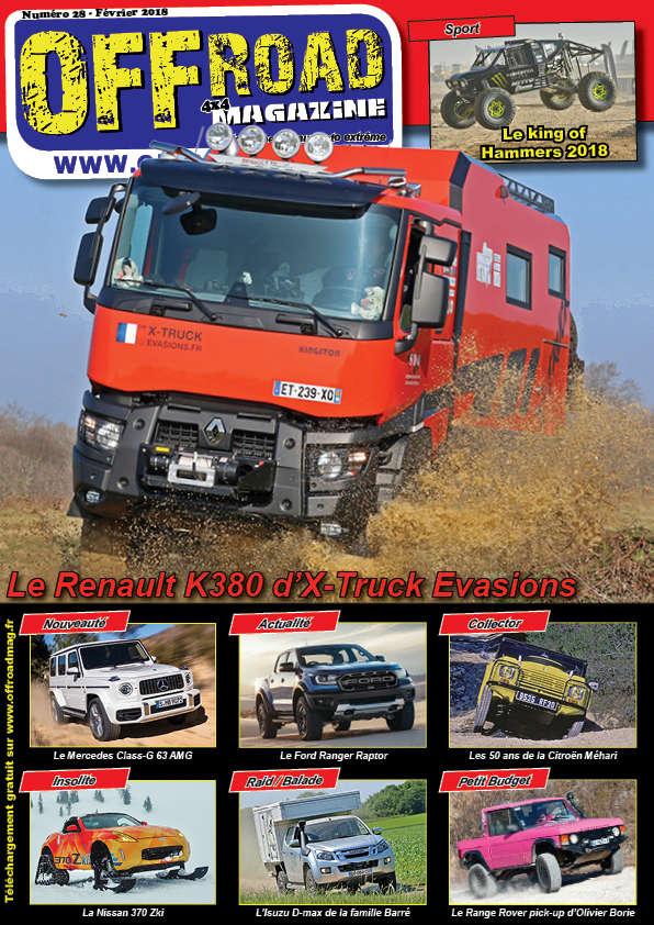 Le numéro 28 d'Offroad 4x4 Magazine est en ligne Numero12