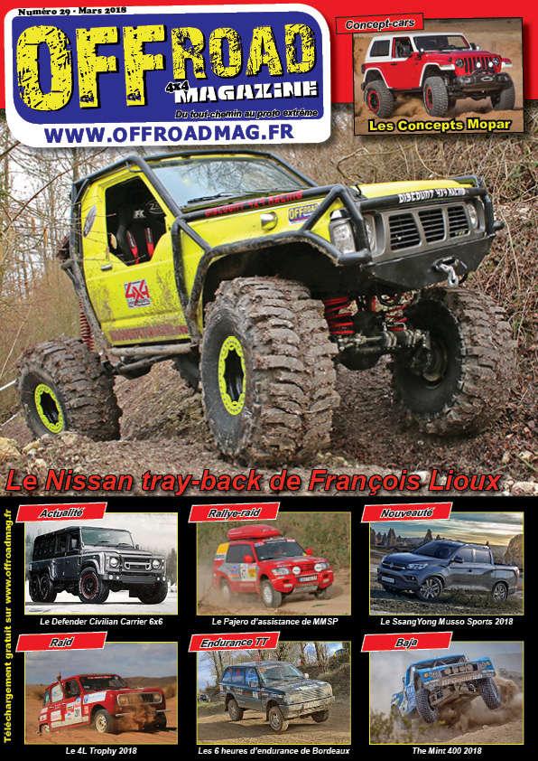 Le numéro 29 d'Offroad 4x4 Magazine est en ligne ! Numero13