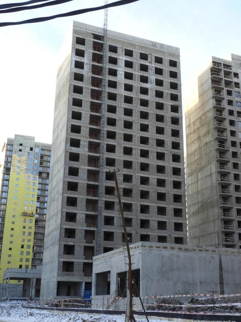 """На ЖК """"Летний сад"""" - начался монтаж фасадных конструкций! Теплозвукоизоляция под ними - лучше, чем у соседнего ЖК """"Город"""" - Страница 2 1114"""