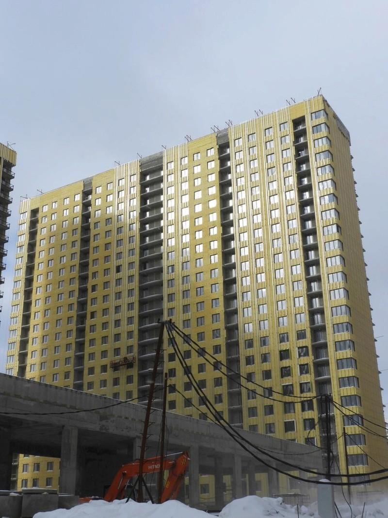 """На ЖК """"Летний сад"""" - начался монтаж фасадных конструкций! Теплозвукоизоляция под ними - лучше, чем у соседнего ЖК """"Город"""" - Страница 4 120"""