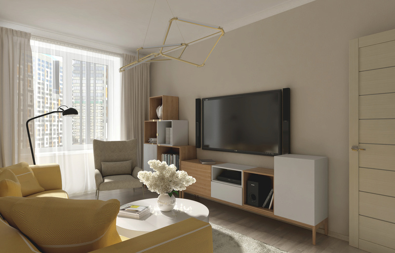 Разработки по возможным интерьерам квартир в ЖК Летний сад 212