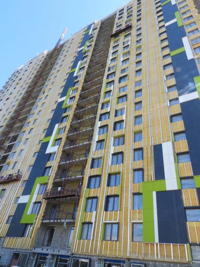"""На ЖК """"Летний сад"""" - начался монтаж фасадных конструкций! Теплозвукоизоляция под ними - лучше, чем у соседнего ЖК """"Город"""" - Страница 6 227"""