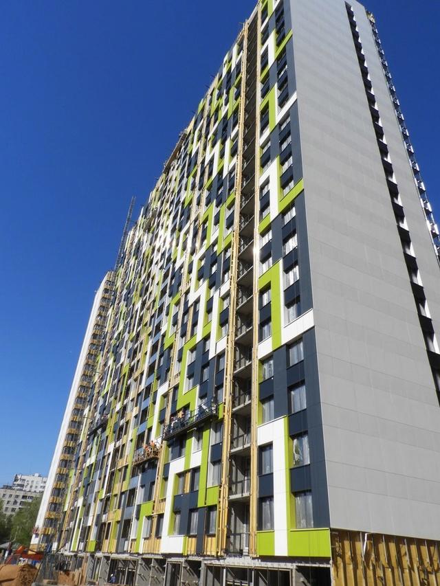 """На ЖК """"Летний сад"""" - начался монтаж фасадных конструкций! Теплозвукоизоляция под ними - лучше, чем у соседнего ЖК """"Город"""" - Страница 6 2713"""