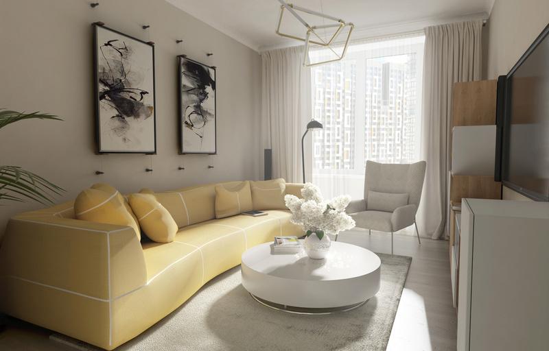 Разработки по возможным интерьерам квартир в ЖК Летний сад 312