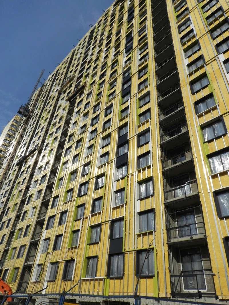 """На ЖК """"Летний сад"""" - начался монтаж фасадных конструкций! Теплозвукоизоляция под ними - лучше, чем у соседнего ЖК """"Город"""" - Страница 5 3611"""