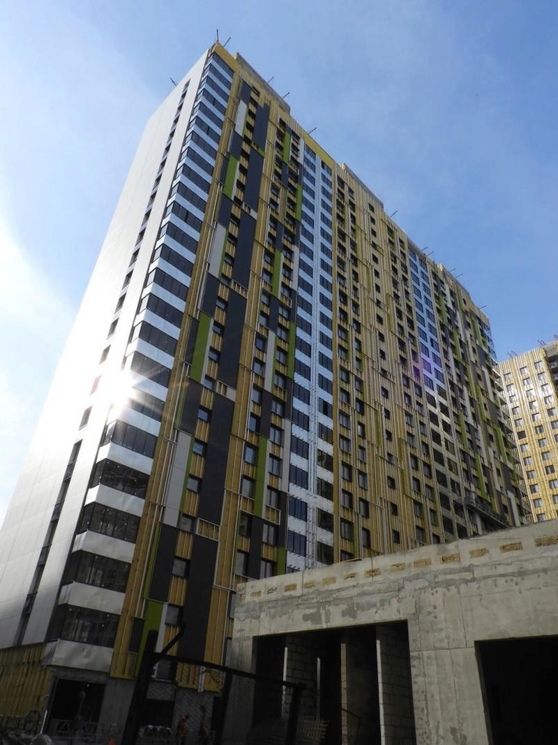 """На ЖК """"Летний сад"""" - начался монтаж фасадных конструкций! Теплозвукоизоляция под ними - лучше, чем у соседнего ЖК """"Город"""" - Страница 5 4012"""