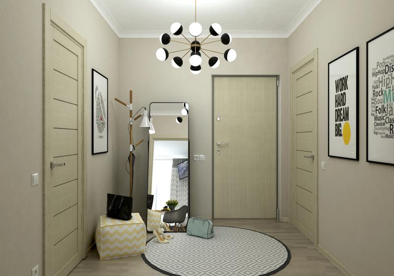 Разработки по возможным интерьерам квартир в ЖК Летний сад 411