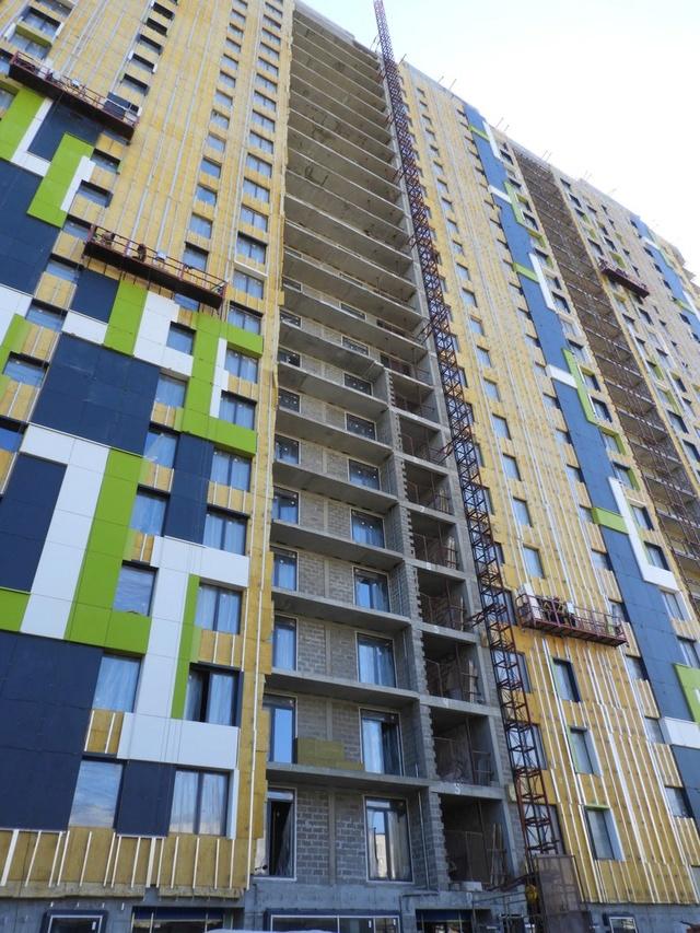 """На ЖК """"Летний сад"""" - начался монтаж фасадных конструкций! Теплозвукоизоляция под ними - лучше, чем у соседнего ЖК """"Город"""" - Страница 6 420"""