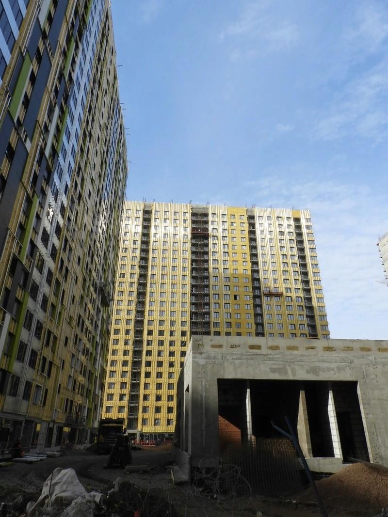 """На ЖК """"Летний сад"""" - начался монтаж фасадных конструкций! Теплозвукоизоляция под ними - лучше, чем у соседнего ЖК """"Город"""" - Страница 5 4210"""