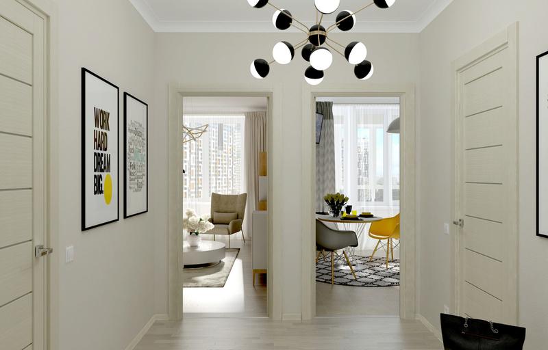Разработки по возможным интерьерам квартир в ЖК Летний сад 511