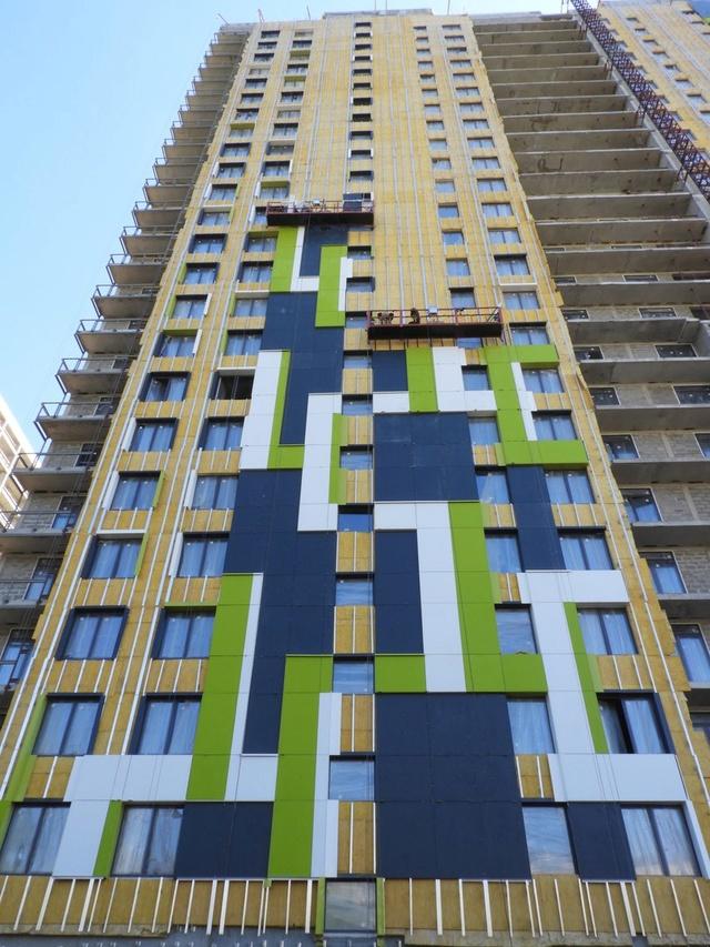 """На ЖК """"Летний сад"""" - начался монтаж фасадных конструкций! Теплозвукоизоляция под ними - лучше, чем у соседнего ЖК """"Город"""" - Страница 6 521"""