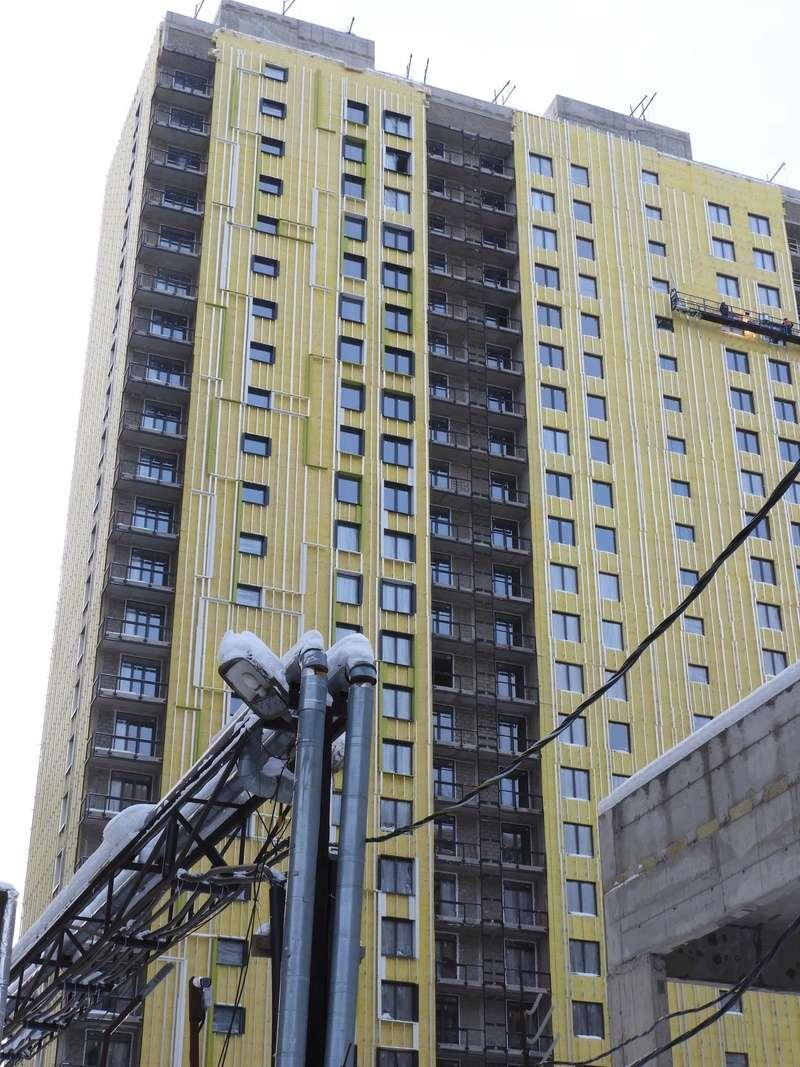 """На ЖК """"Летний сад"""" - начался монтаж фасадных конструкций! Теплозвукоизоляция под ними - лучше, чем у соседнего ЖК """"Город"""" - Страница 3 617"""