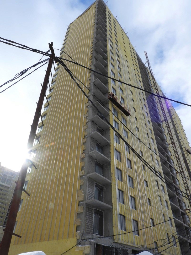 """На ЖК """"Летний сад"""" - начался монтаж фасадных конструкций! Теплозвукоизоляция под ними - лучше, чем у соседнего ЖК """"Город"""" - Страница 4 720"""