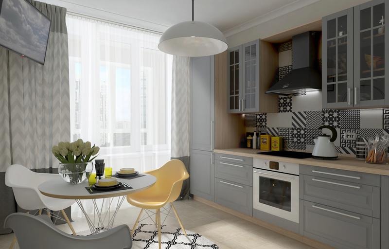 Разработки по возможным интерьерам квартир в ЖК Летний сад 811