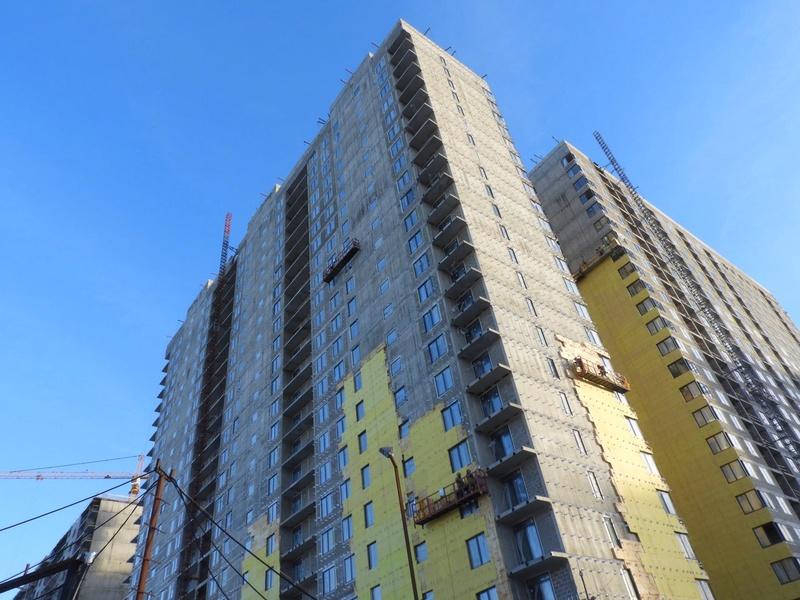 """На ЖК """"Летний сад"""" - начался монтаж фасадных конструкций! Теплозвукоизоляция под ними - лучше, чем у соседнего ЖК """"Город"""" - Страница 2 Dy8ekl11"""