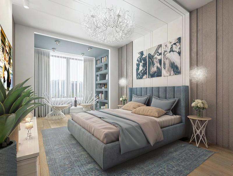 Разработки по возможным интерьерам квартир в ЖК Летний сад Xzuets10