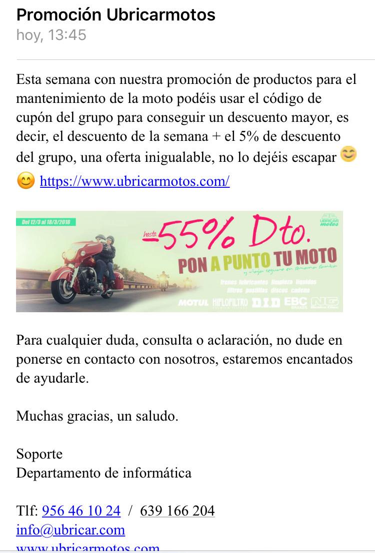 Dtos. ESPECIALES/PUNTUALES DE UBRICAR MOTOS PARA MIEMBROS DEL FORO 435f4210