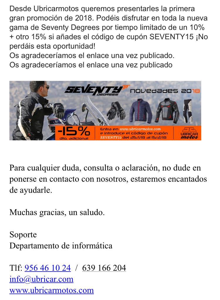 Dtos. ESPECIALES/PUNTUALES DE UBRICAR MOTOS PARA MIEMBROS DEL FORO 5206c010