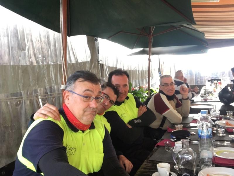 SALIDAS (CAT): Almuerzo en Punta Riu Tordera (Barcelona). 21.01.2018 Ec211610