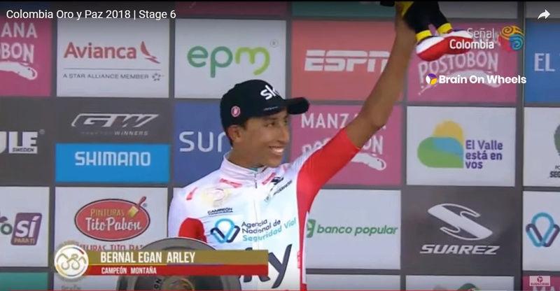 Campeones de la Montaña UCI 2018 Bernal11