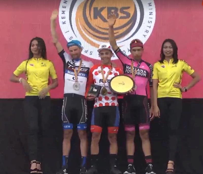 Campeones de la Montaña UCI 2018 Langka10