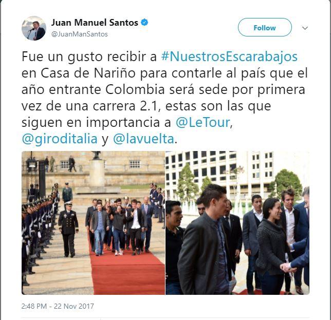 Colombia Oro y Paz 2018 Santos10
