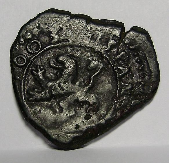2 maravedís Felipe III 1603 1r10