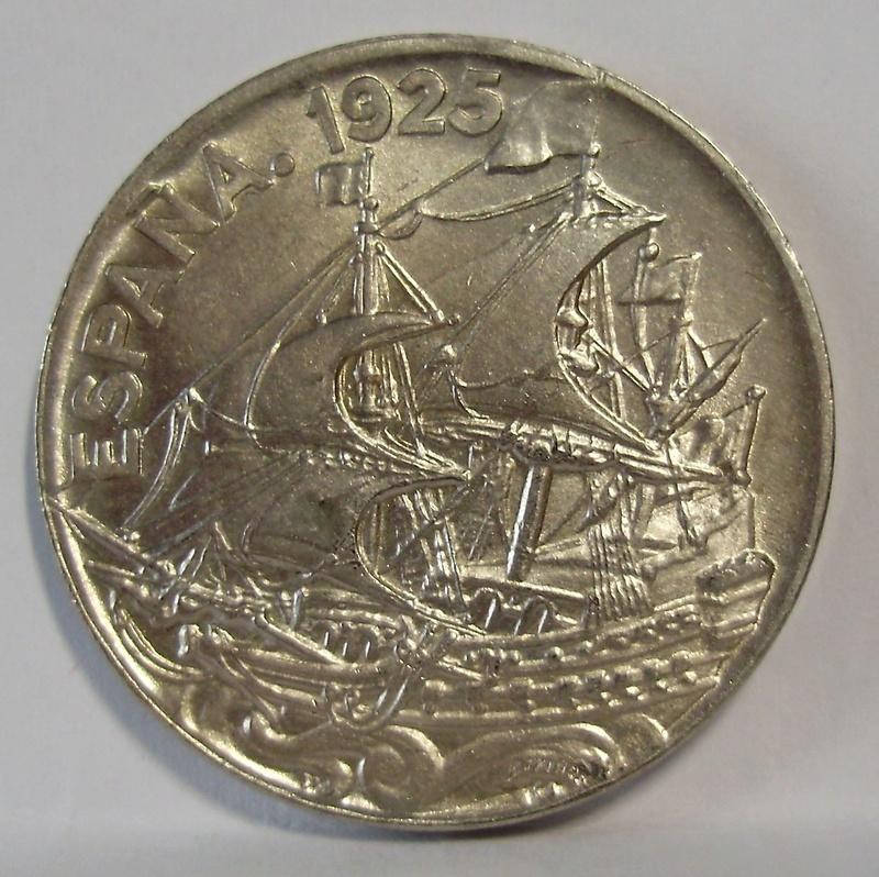 25 céntimos 1925. Alfonso XIII P4070012