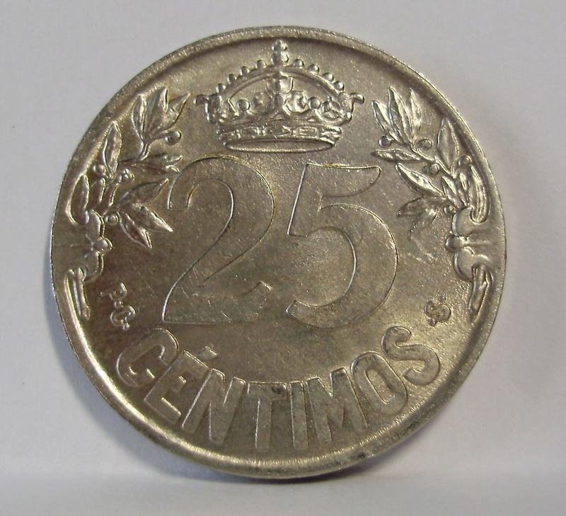 25 céntimos 1925. Alfonso XIII P4070013