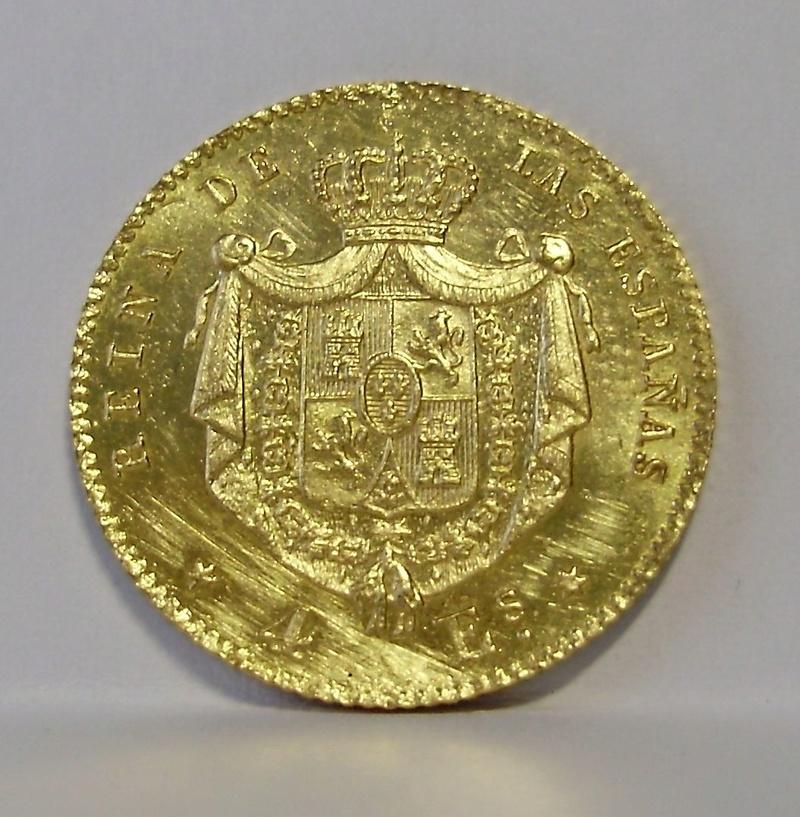 4 Escudos de Isabel II de 1867. Madrid. P6110015