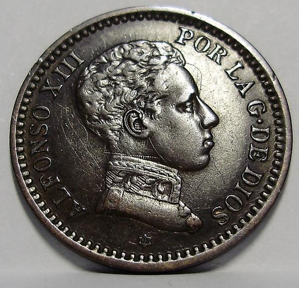 2 céntimos 1905. Alfonso XIII. Oreja rayada  Sin_ty14