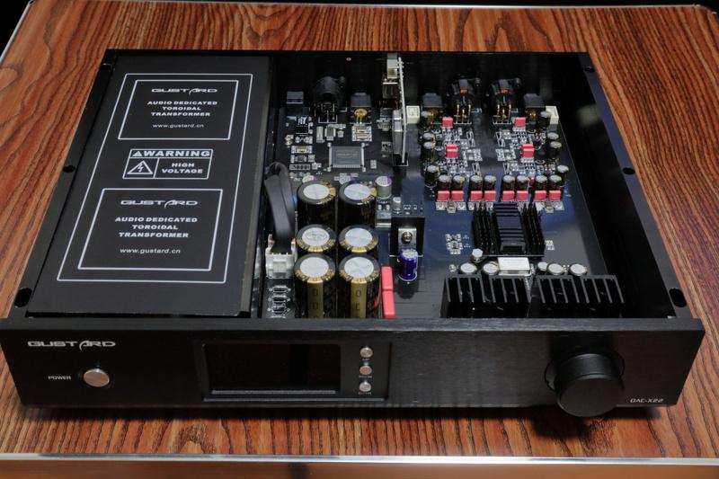 Gustard-DAC-X22-ES903  VS  Audio- GD 28.38 G110
