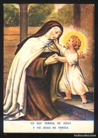 Santa Teresa de jesús / Sagrado Corazón de Jesús 1873. (R.M. SXIX-O92) 76656410