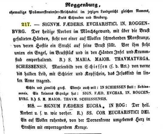 S. Maria Maior de SCHIESSEN  / San Norberto (ROGGENBVRG). S. XVIII B_i_2110