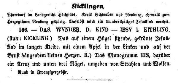 Niño Jesús de Kicklingen / IHS - Nomina Sacra - MR598- (SXVIII-C150) Beierl10