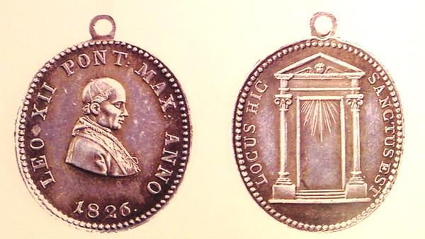 Medalla por el Jubileo de 1825 LEO XII Bertuz10