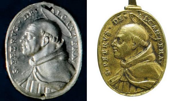 San Pedro de Alcántara /Jubileo Romano de 1700 (Hamerani) - MR580-(R.M. SXVIII-O374) Compar10