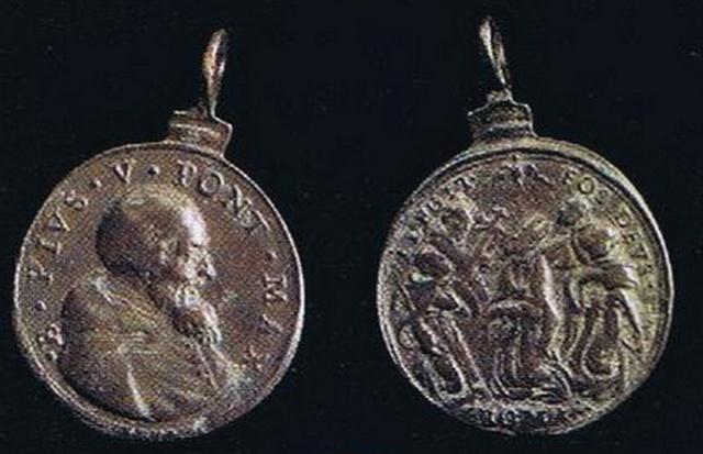Cinco santos canonizados en 1622 / Cristo con la cruz a cuestas S-XVII Eligit10