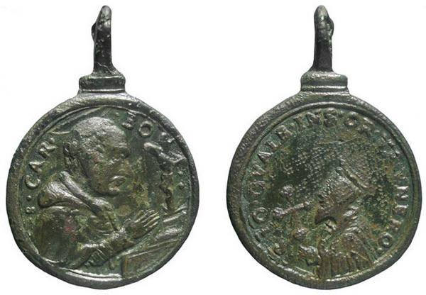 Las  MEDALLAS de San CARLOS BORROMEO. SIGLOS XVI- XVII- XVIII. Apuntes iconográficos. Insvla11