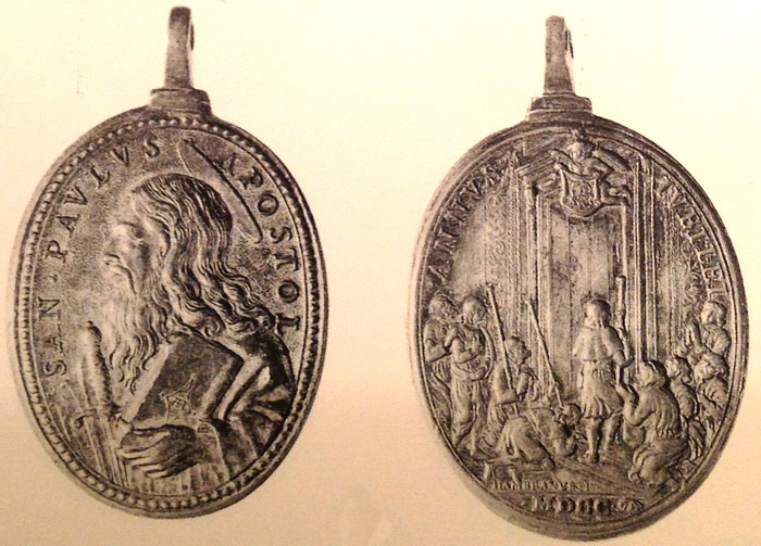 San Pedro / Puerta Santa - Jubileo romano 1675 (Hamerani) - MR565- (R.M. SXVII-O451) San_pa10