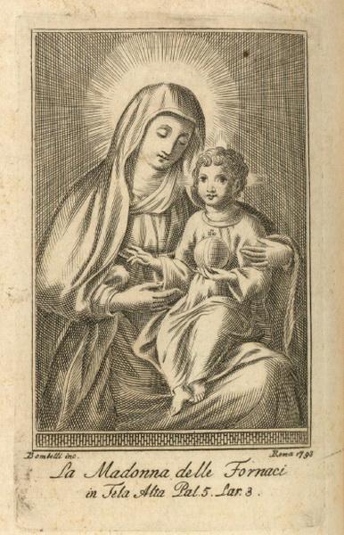 Madonna delle Grazie di Santa Maria delle Fornaci / San Juan de Mata (R.M. SXVIII-O388) Virgen10