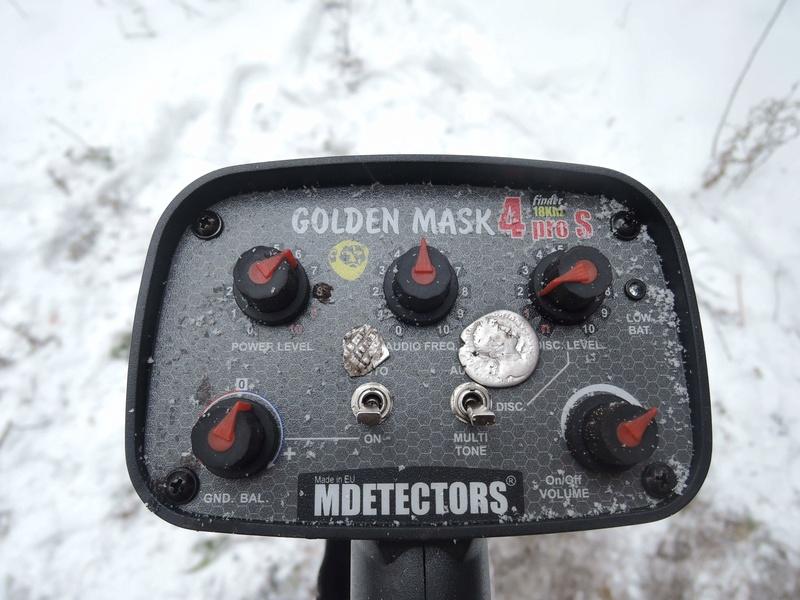 Golden Mask 4PRO S - новия металоттърсач-блог бъстър на MDETECTORS Receiv13