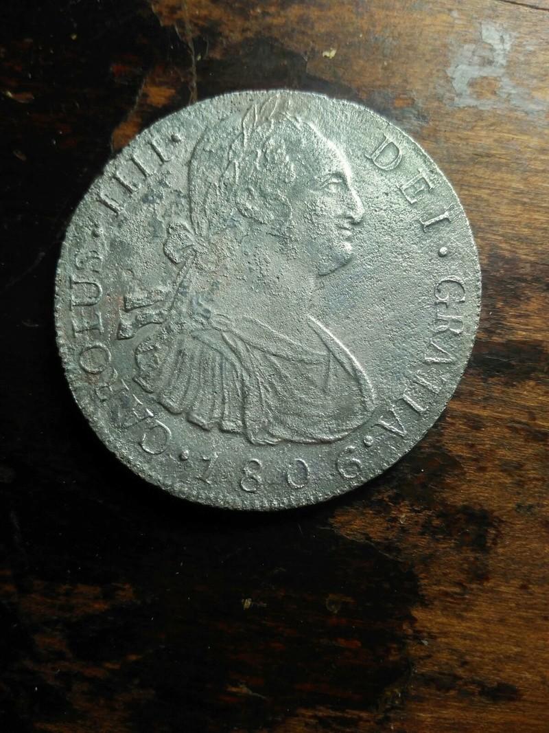 8 reales 1806.Carlos IIII. Guatemala Whatsa18