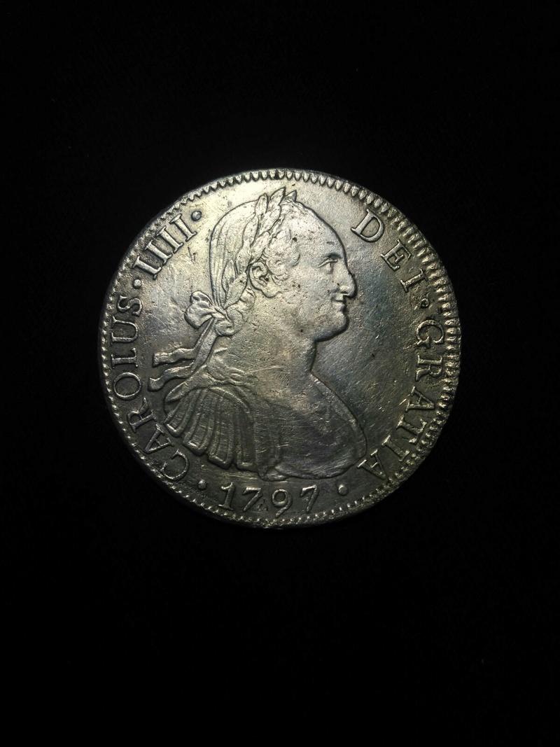 8 reales 1797. Carlos IV. Mejico Whatsa23