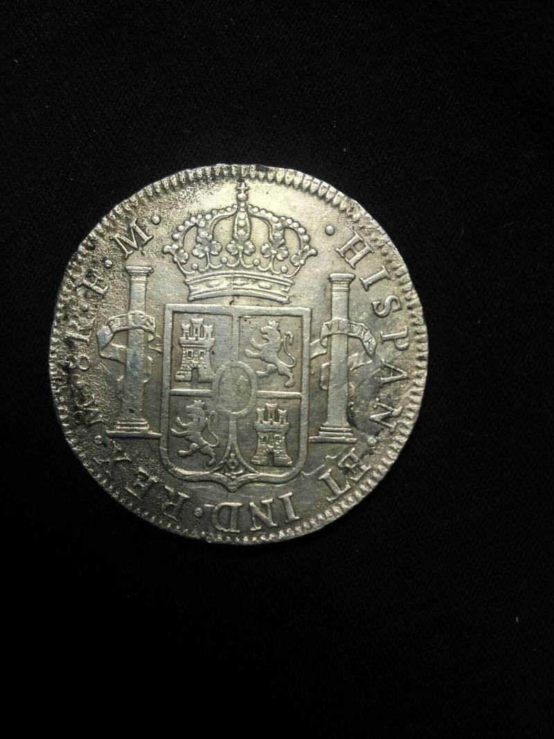 8 reales 1797. Carlos IV. Mejico Whatsa24