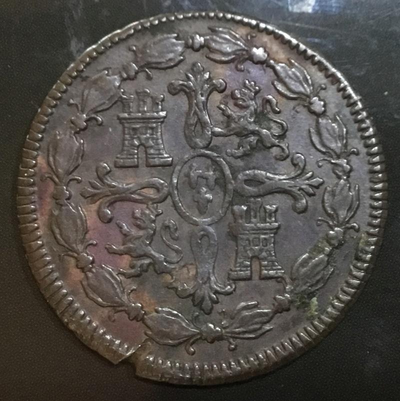 8 Maravedis 1818 Jubia. Fernando VII 01f50f10