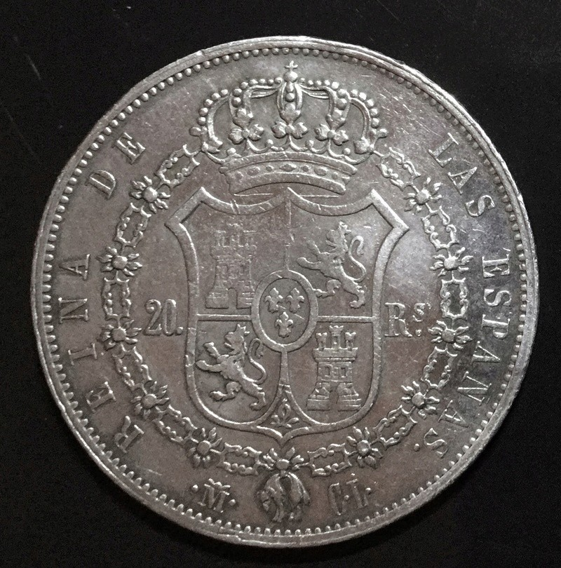 20 reales 1850 Madrid CL. 09204410