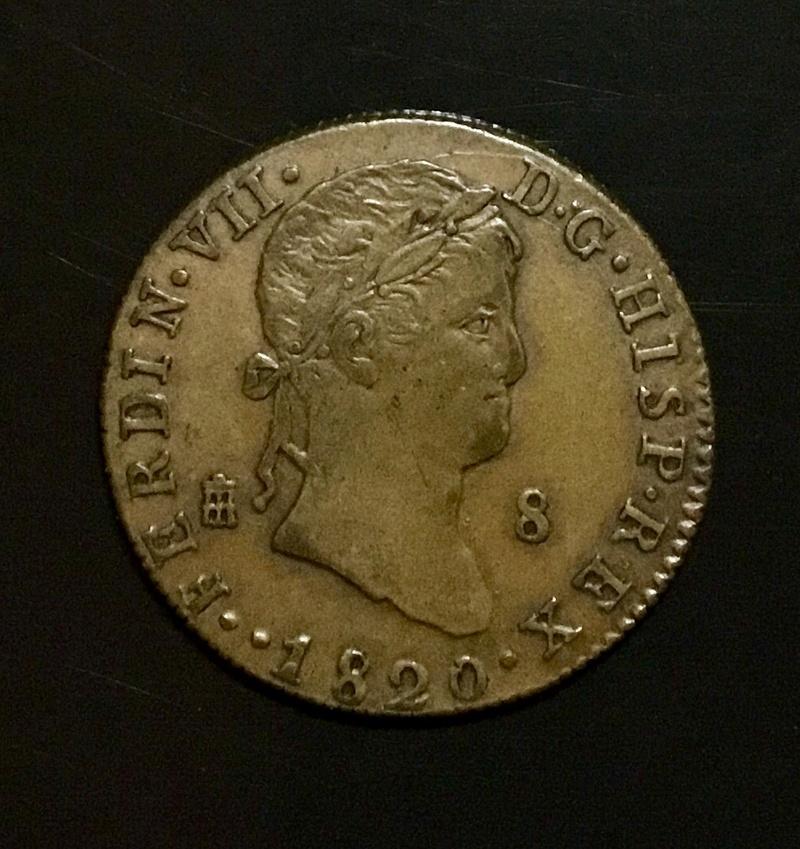 1820 Segovia, 8 maravedis 0cb02710