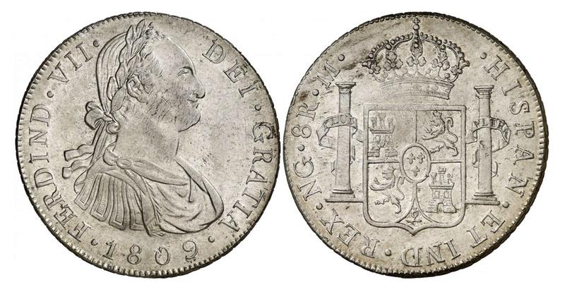 1809 Fernando VII. Guatemala M . 8 reales  34ede410