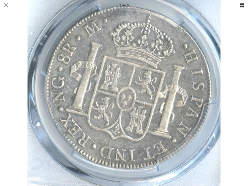 1808 Guatemala M . 8 reales Fernando VII 424f9610